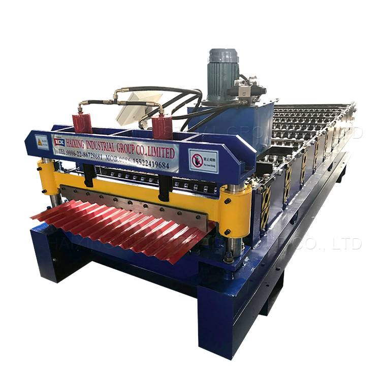 Colored Steel Roof Tile Roll Forming Machine Featured Image