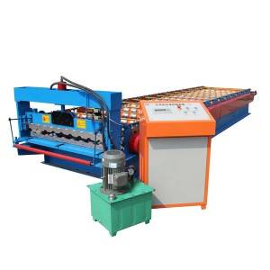 Top Grade Metal Roofing Galvanized Aluminum Corrugated Steel Sheet Making Machine