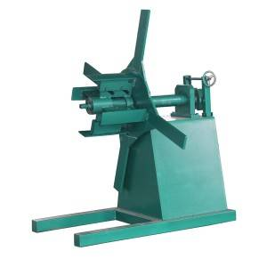 Low price for Double Layer Roofing Tile Roll Forming Machine And Decoiler With