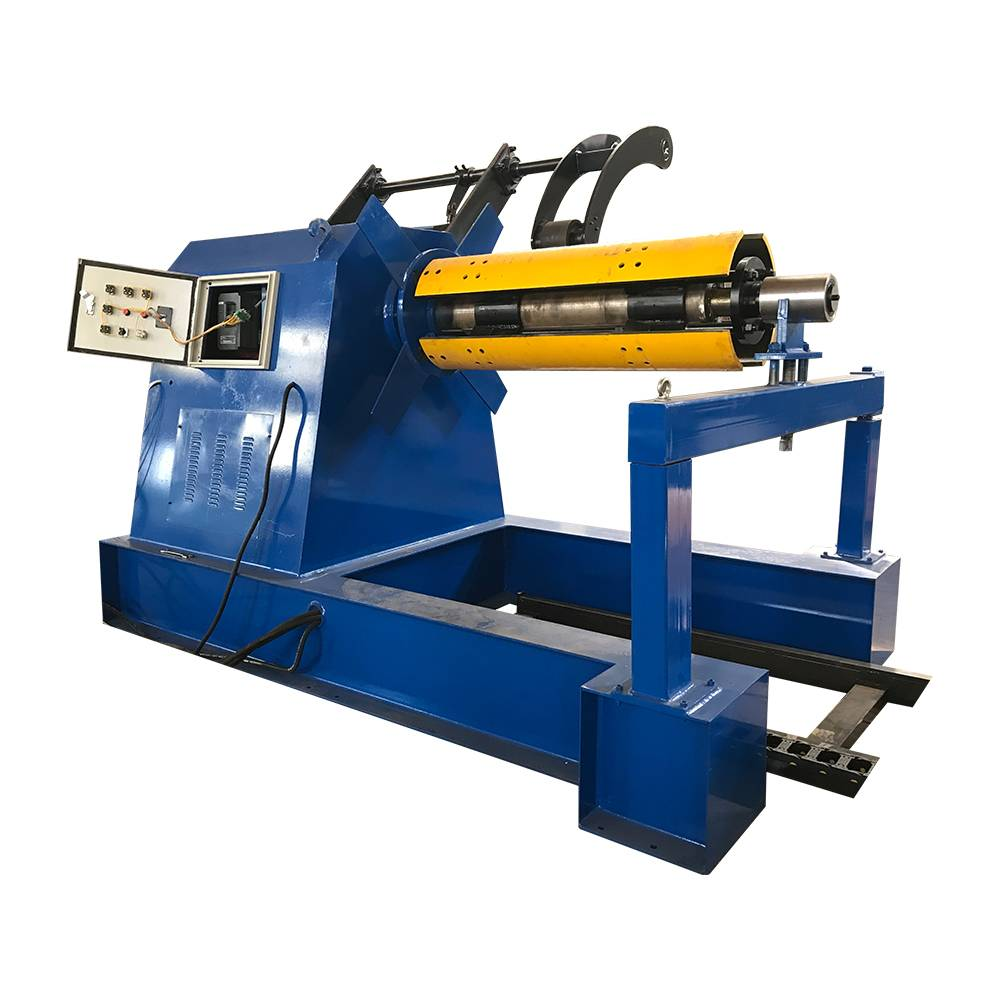 China Supplier Metal Punching&Shearing Machine - Hydraulic Decoiler Machine With Press Arm – Haixing Industrial