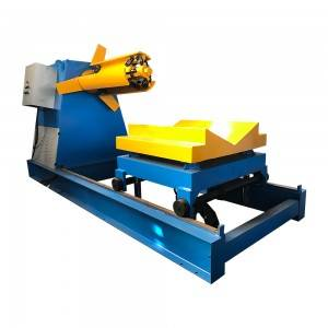 10 Ton Hydraulic Decoiler With Coil Car