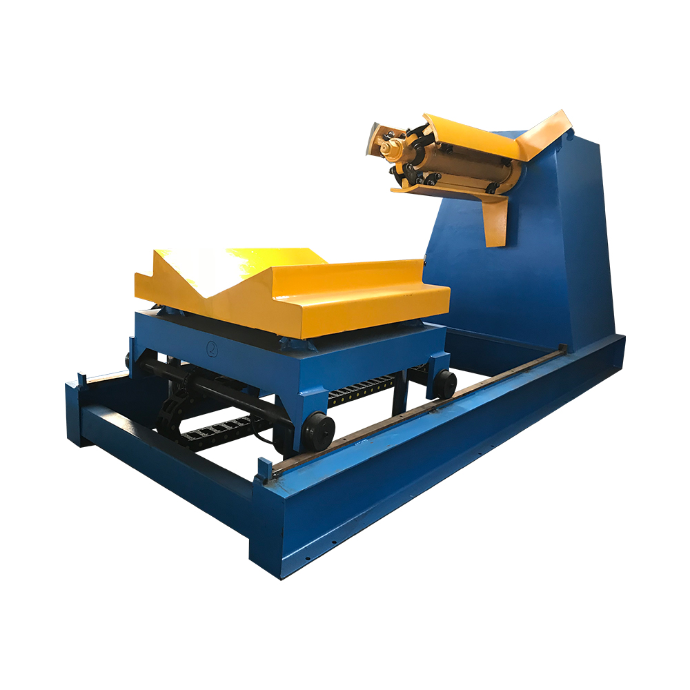 Fixed Competitive Price Steel Coil Slitting Machine - hydraulic decoiler machine – Haixing Industrial