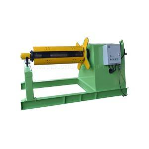 Roof tile making sheet metal machine aluminum decoiler