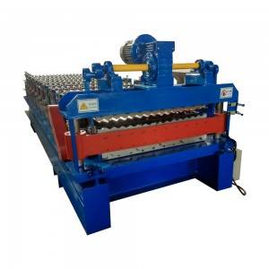 Chinese wholesale Double Layer Cold Roll Steel Machine Roof Tile Forming Machine
