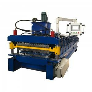 Double toit Tile Machine