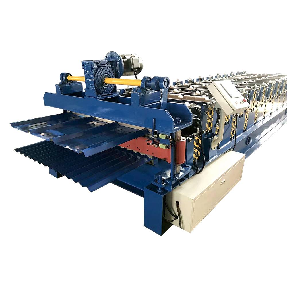 Trapezoidal Tile Double Roll Forming Machine Featured Image