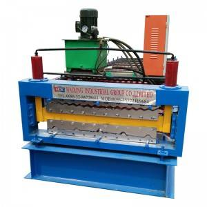 IOS Certificate Double Deck/double Profile/ Double Layer Roofing Sheets Roll Forming Machine