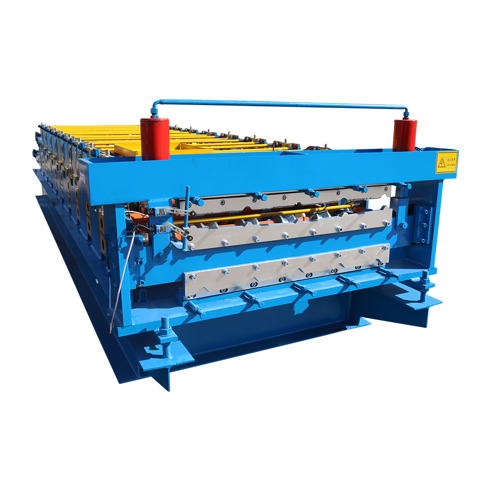 OEM/ODM Supplier Door Frame Forming Machine - Double Layer Roofing Roll Forming Machine – Haixing Industrial