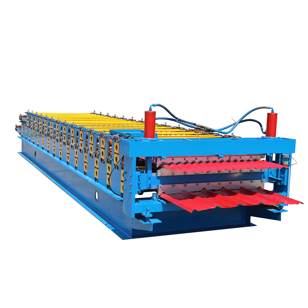 Top Quality Roller Shutter Door Forming Machine - Double Layer Roofing Sheet Roll Machine – Haixing Industrial