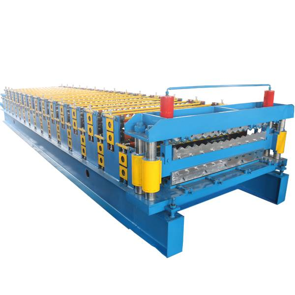 China Factory for Curved Machine - Double Layer Corrugated Roof Sheet Making Machine – Haixing Industrial
