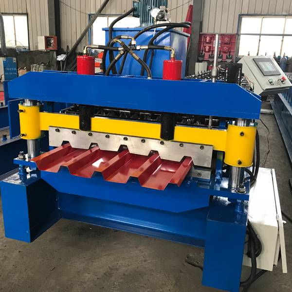 Wholesale Price China Metal Deck Making Machine - IBR Roof Panel Roll Forming Machine – Haixing Industrial