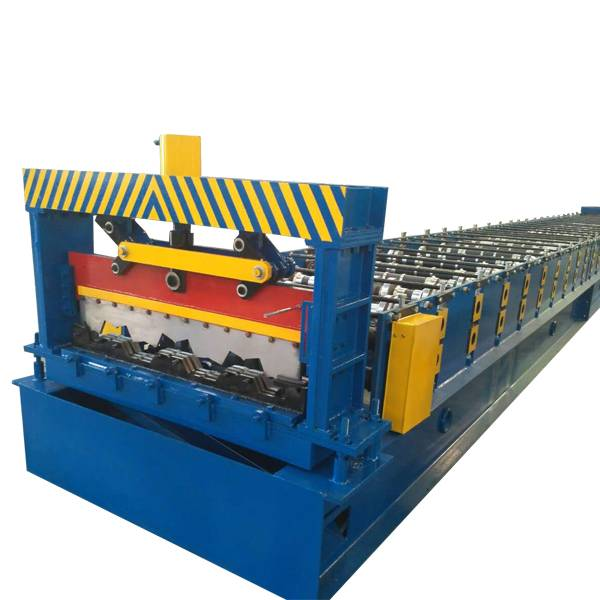 Hot sale T Grid Cold Roll Forming Machine - Steel Floor Decking Panel Roll Forming Machine – Haixing Industrial