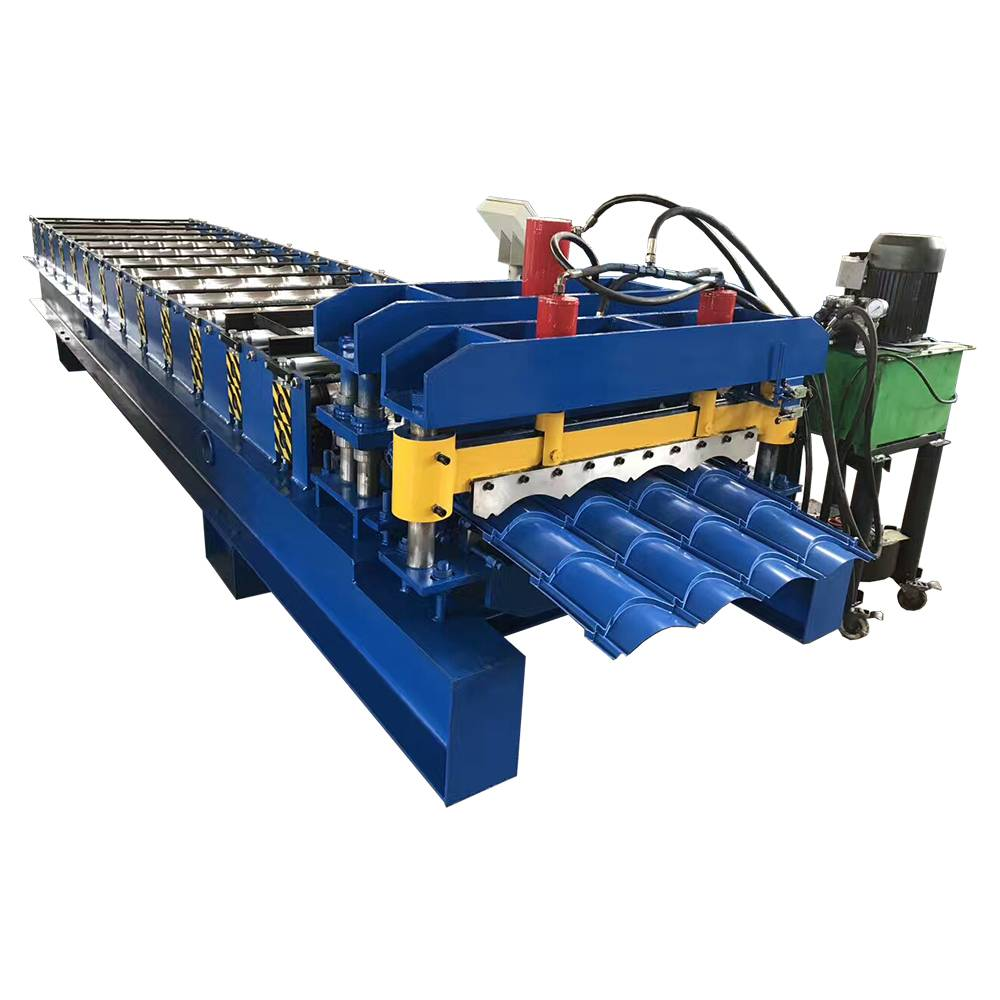 Glazed Roofing Tile Roll Forming Making Machine Featured Image