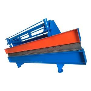 Press brake and shearing machine