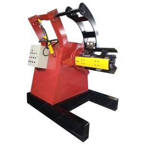 Top Grade Lms Manual And Hydraulic Decoiler 10 Tons Steel Uncoiler Machine