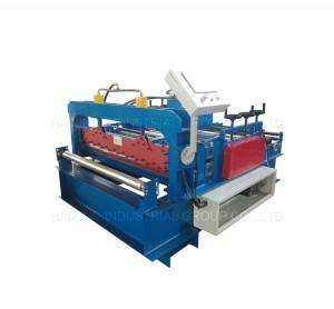 Metal coil tolosa leveling up Machine