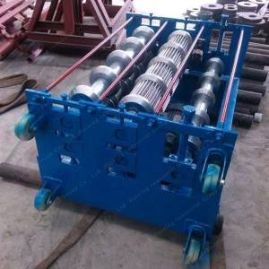 Metal Arch Roofing Curving Roll Forming Machine