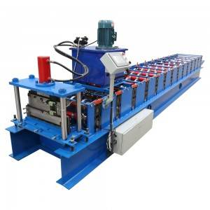 Fast delivery Corrugated Iron Roof Sheet Making Machine Standing Seam Metal Roof Machine