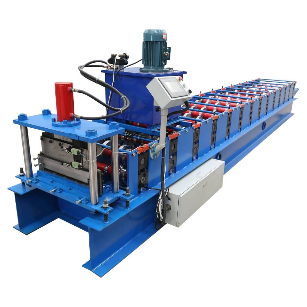 Wholesale ODM Galvanized Steel Standing Seam Roof Panel Roll Forming Machine Featured Image