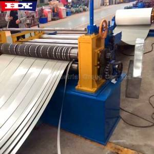 Automatic coil slitting cutting rewinding machine