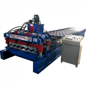 Off-arc Glazed Roof Roll Forming Making Machine