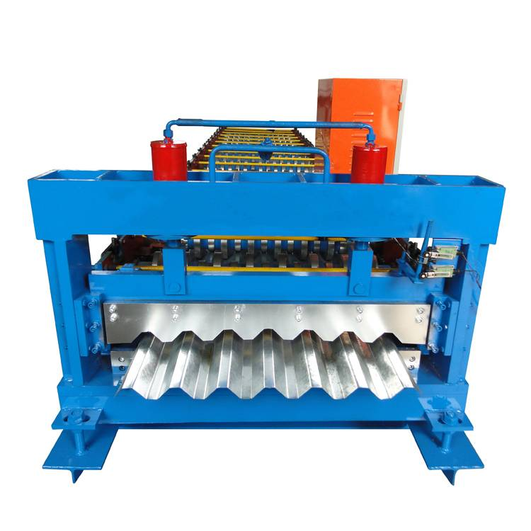 Reasonable price for Rolled Steel Uncoiler - Galvanized Steel Trapezoidal Roof Making Machine – Haixing Industrial