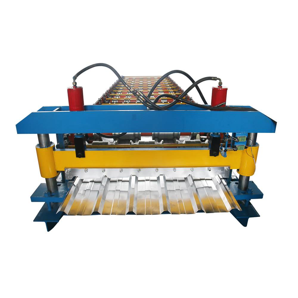 Zinc Roof Tile Making Machine - Buy Roll Forming Line