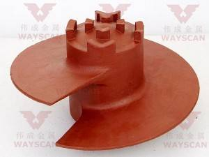 WAYS-S001  Mining machine casting part OEM