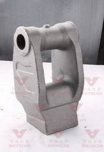 WAYS-S010   Carbon steel  Mining machine casting part