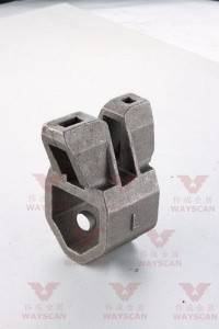 WAYS-S012 OEM Mining machine Fitting  casting part