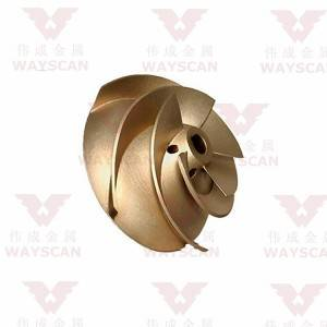 WAYS-S017  Cu casting impeller