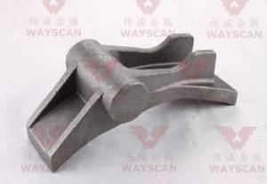 WAYS-S002  Carbon steel Mining machine casting part OEM