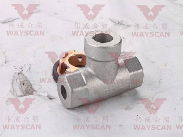 WAYS-T024  pipe fitting casting part (Carbon steel ) Featured Image