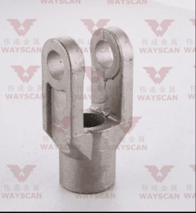 WAYS-T026  Fork fittings  Carbon steel casting part