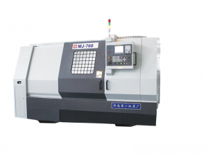 Full-function CNC Lathe MJ-760 with Slant Bed