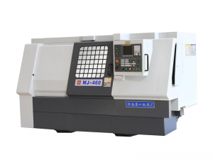 Full-faction CNC Lathe MJ-460 with Slant Bed