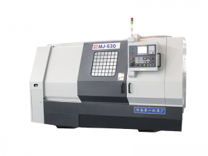 Full-function CNC lathe MJ-630 with Slant Bed
