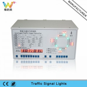 High quality 44 outputs intelligent LED traffic light controller