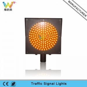 High quality good price yellow flash led traffic warning light
