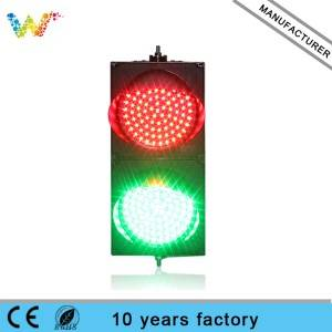 New design hot selling AC85-265V 200mm red yellow green PC LED traffic signal light for sale