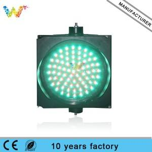 mix red green signal PC housing 300mm LED traffic light