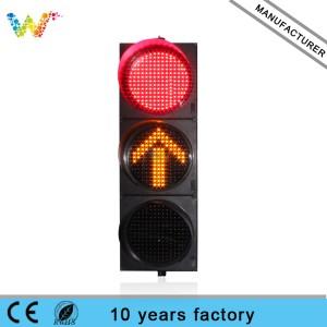 400mm red green yellow full ball arrow LED Traffic Light