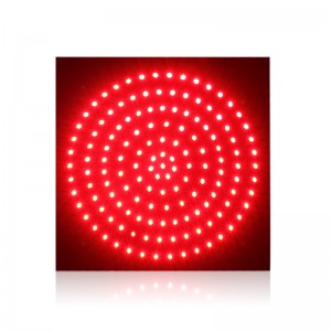 red traffic signal light PCB board for 300mm crossing road  traffic light