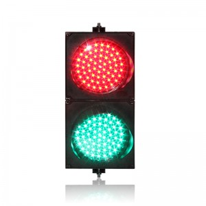 DC12V factory direct price high quality 200mm 8 inch crossing road LED traffic signal light in Portugal