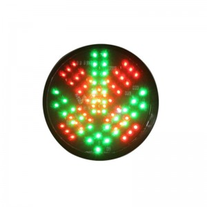 China manufacturer 200mm red cross green arrow traffic lamp