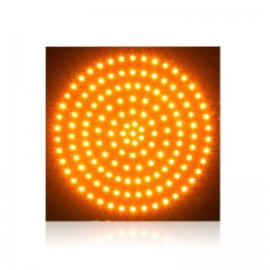 300mm yellow PCB board high brightness LED traffic signal light