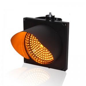Slim PC housing high brightness Epistar LED  200mm yellow traffic signal light