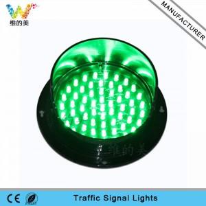 Waterproof mini 125mm green signal LED traffic light