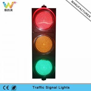 New design 300mm red yellow green LED traffic signal light