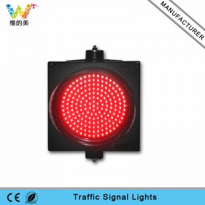 High brightness 300mm red color LED traffic signal light